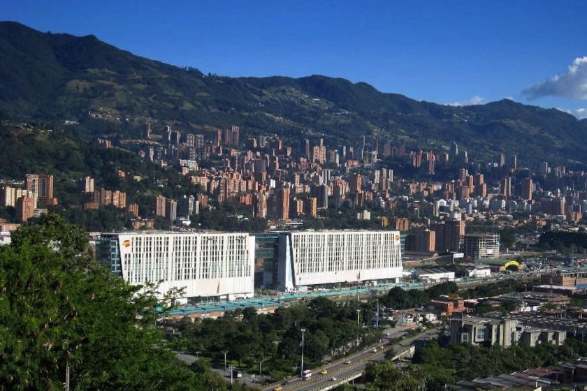 Medellín und El Poblado vom Cerro Nutibara