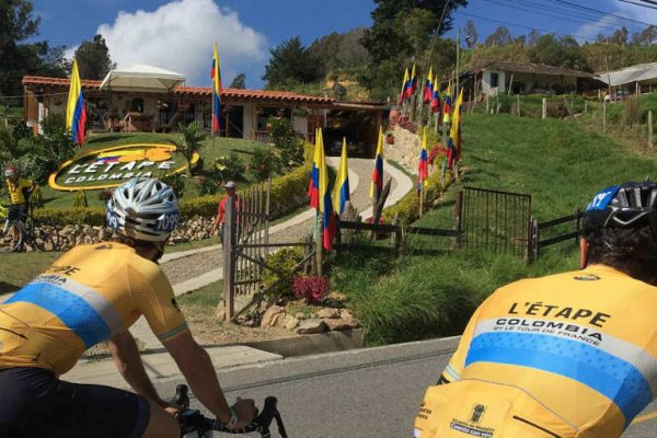 One of many fantastic cycling events in Colombia: L'Étape Colombia