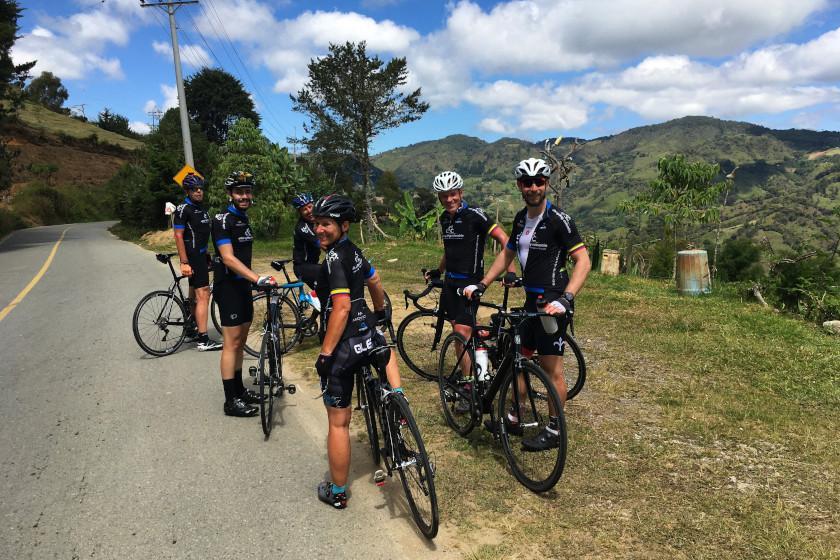 Rennradcamp Kolumbien: Auf dem Weg nach Granada