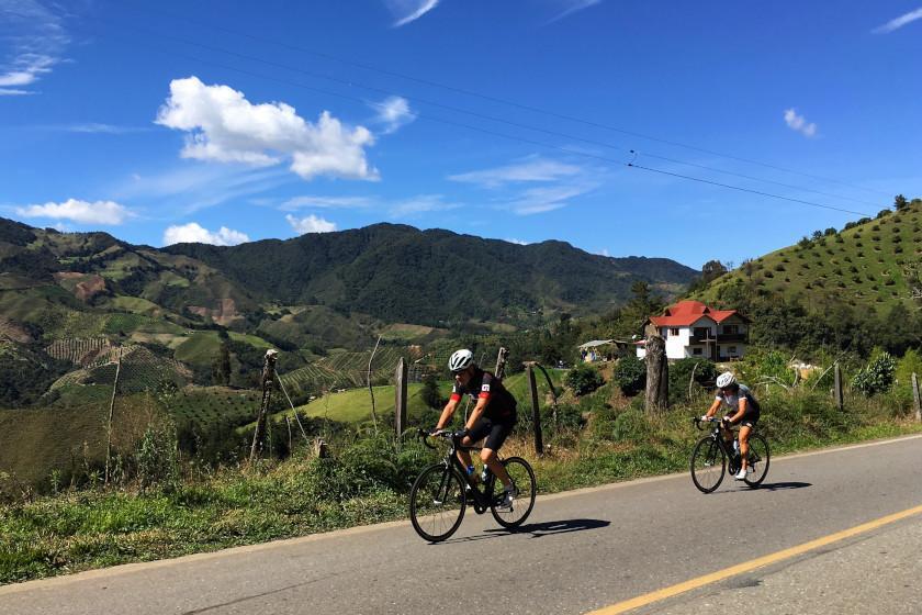 Rennradcamp Kolumbien: Optimale Bedingungen für Rennradfahrer