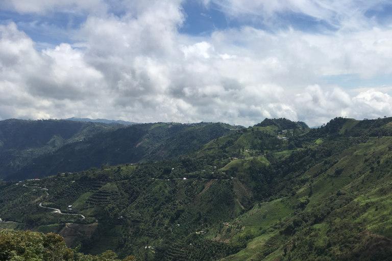 Rennradreise Faszinierendes Kolumbien Bild 18, Eindrücke Auffahrt zum Alto de Letras