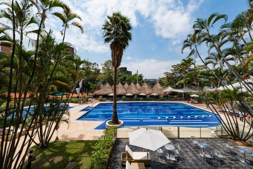 Nach dem Rennradurlaub noch ein paar Tage den Luxus des Intercontinental Medellín genießen