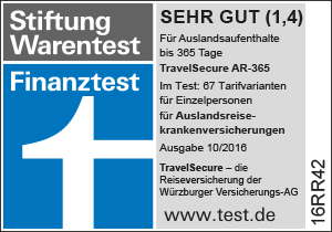 Finanztest-Siegel