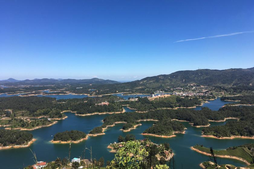 Road Cycling Training Camp Colombia: Lake of Guatapé