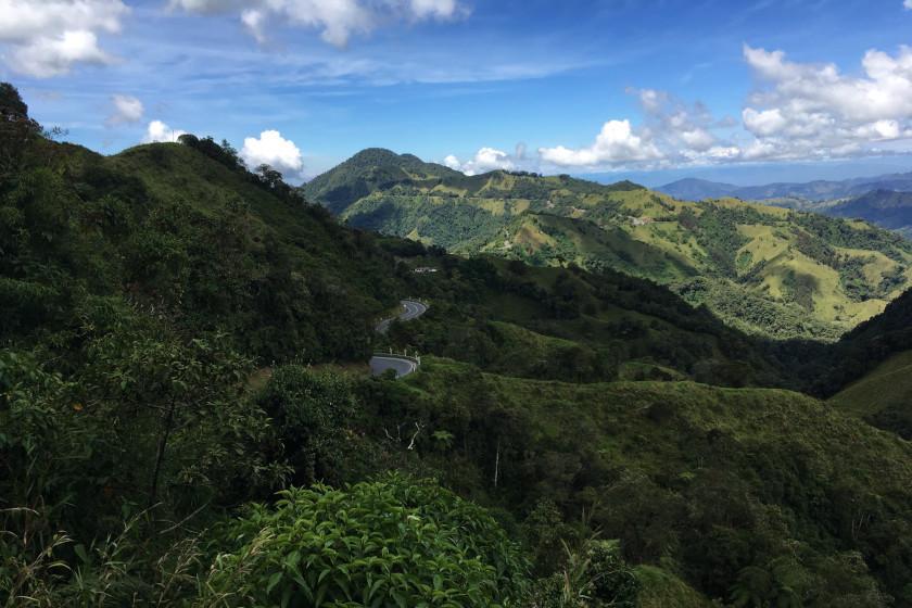 Rennradtour zum Alto de Letras: Atemberaubende Aussicht auf den längsten mit dem Rennrad befahrbaren Pass der Welt in Kolumbien