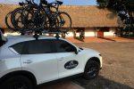 Rennradreise Faszinierendes Kolumbien: Die Begleitfahrzeuge werden beladen