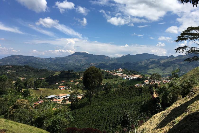 Jericó, ein wunderschönes Dorf in den kolumbianischen Anden, Rennradreise Faszinierendes Kolumbien