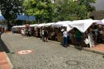 """Rennradreise """"Ruta del Café"""": Markt in Santa Fe de Antioquia"""